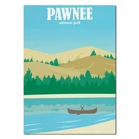 nordic poster canvas pawnee chile costa rica painting wall art posters and prints home decor