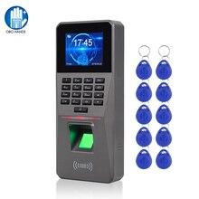 OBO Fingerprint Access Control Keypad TCP/IP/USB RFID Card Reader Biometrics Password Access System Time Attendance Machine