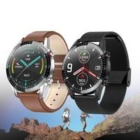 fashion smart watch men women bluetooth call ecgppg heart rate fitness tracker blood pressure ip68 waterproof smartwatch vs l15