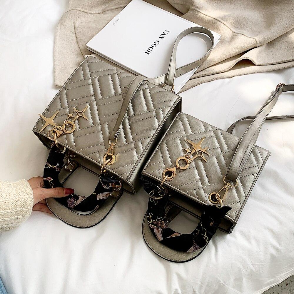 Bolso de mano de lujo, de diseñador, para mujer, a la moda, para hombro, bandolera, torebki damskie 2020, bolsa femenina