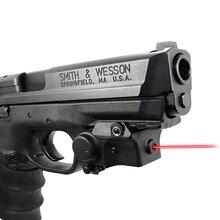 Laser puissant tactique mini point rouge pour pistolet dautodéfense laser vert airsoft fusil glock pistolet lasers