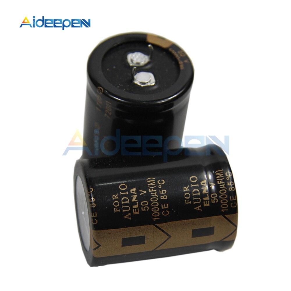 10000UF 50V 50V10000UF 30X40mm para Audio ELNA marca nueva Original Hifi DIY de filtro de Audio condensador electrolítico