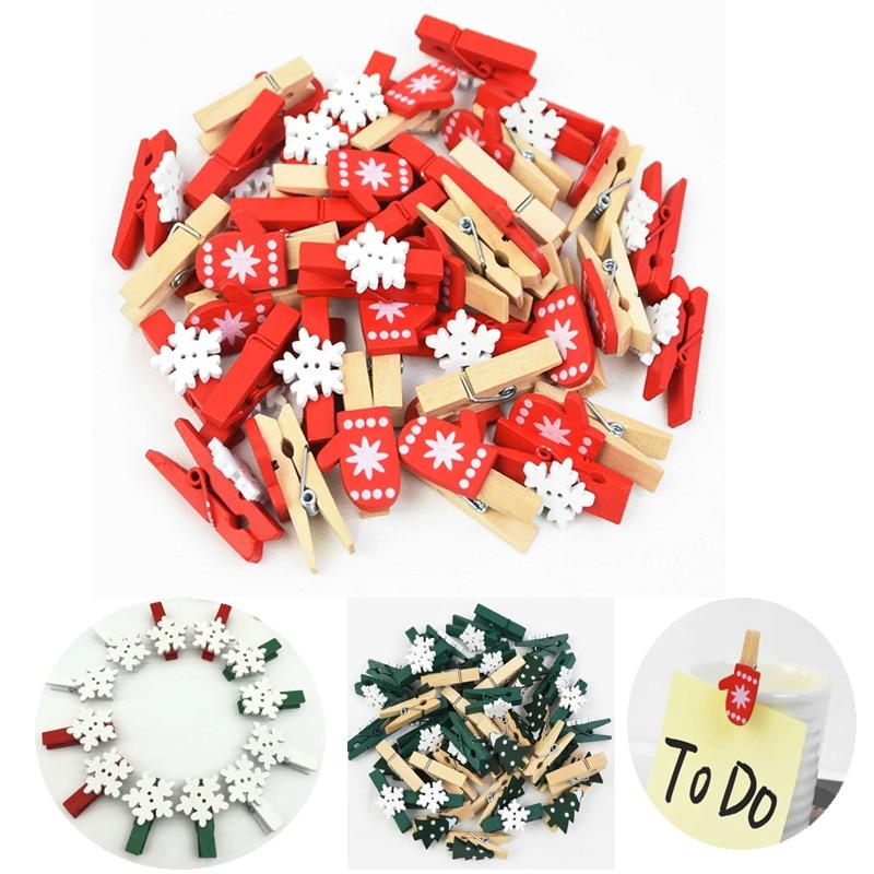 Рождественские деревянные зажимы, украшение для новогодвечерние, фото, настенный зажим «сделай сам», детский подарок для дома