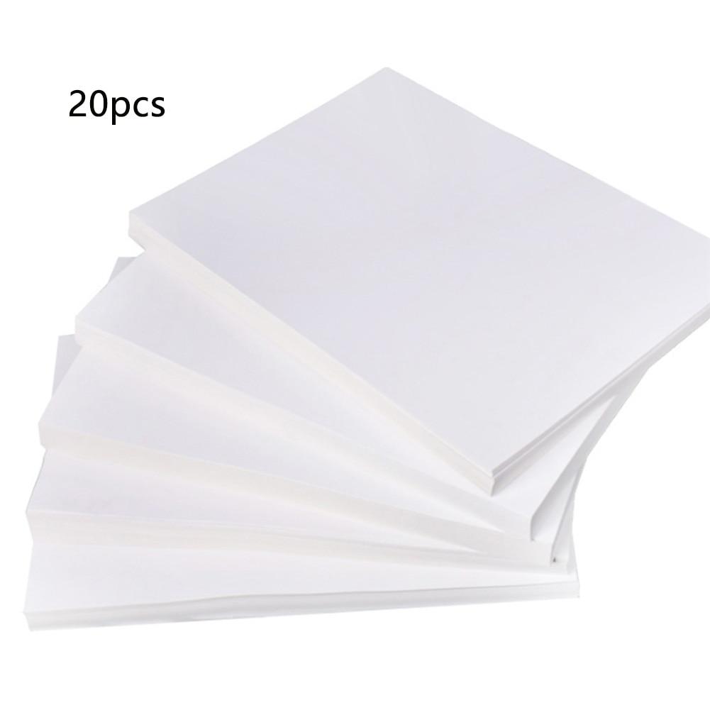 20 шт./компл. футболка A4, передаточная фотобумага для термопечати светильник для рубашек, струйных принтеров A4, A4E4