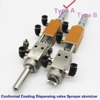 Conformal Coating Dispensing valve Sprayer atomizer High frequency aerosol valve