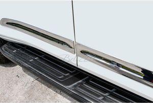 For Toyota Land Cruiser Prado 2014 2015 ABS Chrome Body Side Door Mouldings Trim