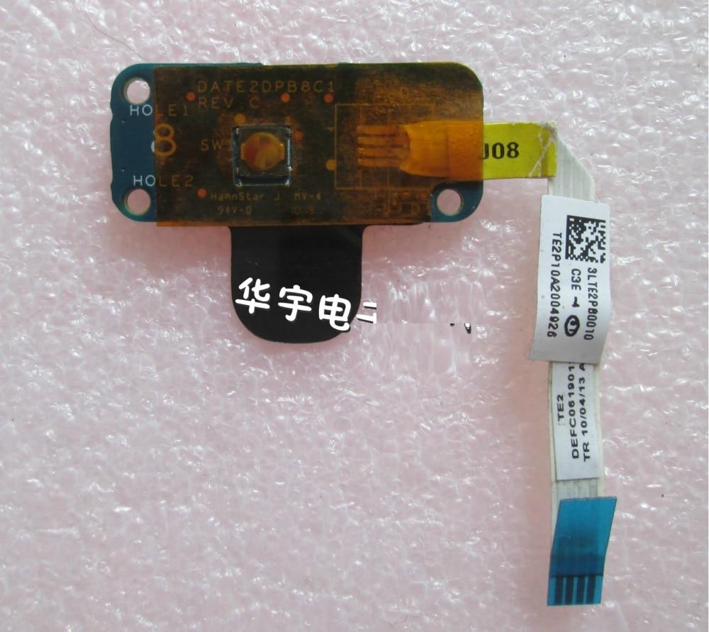 Cabo da placa do botão do interruptor de alimentação do portátil para toshiba l600 l600d l640 l700 l740 l745