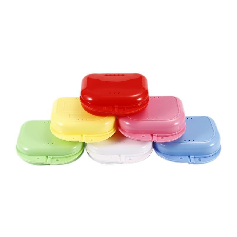 Caja de baño para dentadura, caja de almacenamiento para dentadura, caja de diente artificial, caja de almacenamiento para goteo, caja de almacenamiento para el hogar