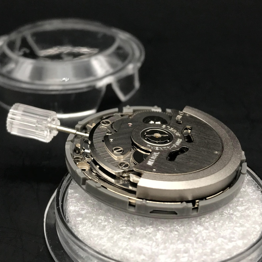 24 Jewels 4R36 NH36 Japan Original Self-Winding MovtOriginal Seiko NH36A Automatic Mechanical Movement With Day/Date Window enlarge