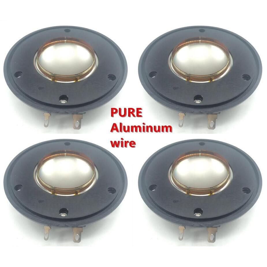 Diafragma de 4 Uds. De alambre de aluminio puro para Wharfedale, D-533A Driver Wharfedale serie D533a Evp y diafragma Titan 12 p-hf