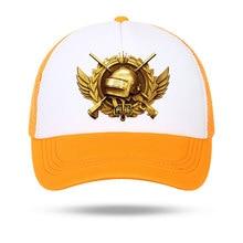 Chapeau PUBG de Baseball jeu darmes à feu   Casquettes de Baseball PUBG, chapeau de gagnant playerunsdu champs de bataille pour femmes et hommes unisexes, chapeaux Parent-enfant, chapeaux en maille