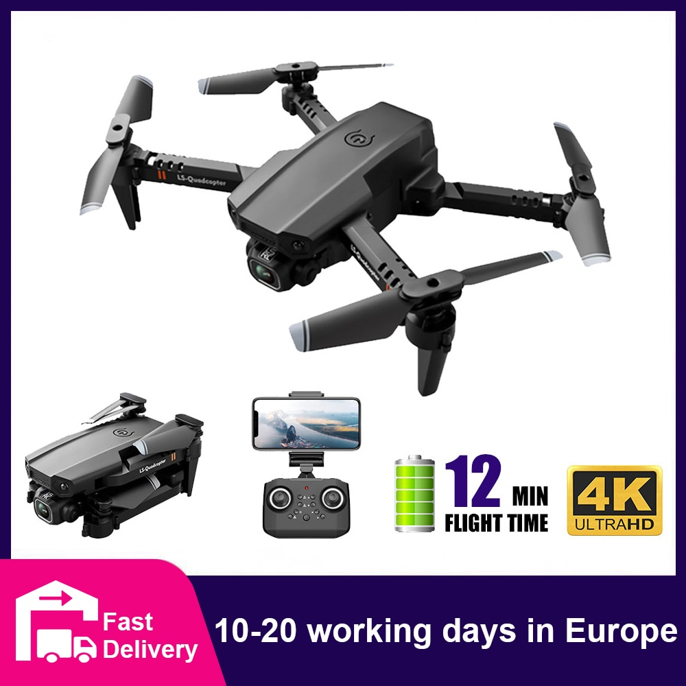 CONUSEA XT6 البسيطة Drone 4K HD مع كاميرا الارتفاع الانتظار مقطوعة الرأس RTF 360 درجة FPV 6-محور الدوران 4CH 2.4Ghz طوي RC Quadcopter