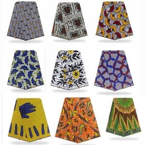 African Fabric Wax Print Ankara Wax High Quality Pagne Real Wax Cotton 6yards African Ankara dresses fabric