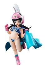 Figurine danime Dragon Ball Z filles fils Goku femme Chichi enfant Ver bleu cape PVC modèle Sexy fille Collection jouets lelakaya