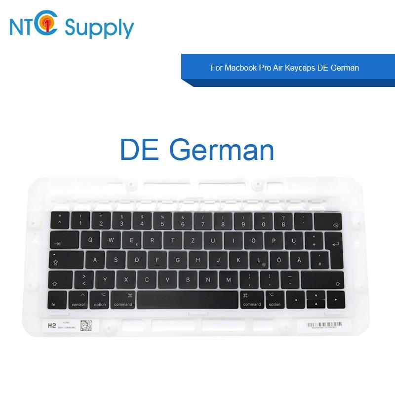 NTC Supply Brand new keycaps DE For Macbook Pro Air A1706 A1707 A1708 A1932 A1989 A1990 A2159 A2141 Keycaps DE German