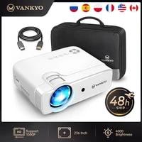 VANKYO Loisirs D30MQ Resolution Native 854x48 0 720P Support 1080P Synchronisation Sans Fil Affichage 50 000 Heures pour Home Cinema