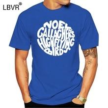 Men tshirt  Noel Gallagher s High Flying Birds Circle Logo T-Shirt(2) hot Printed T-Shirt tees top