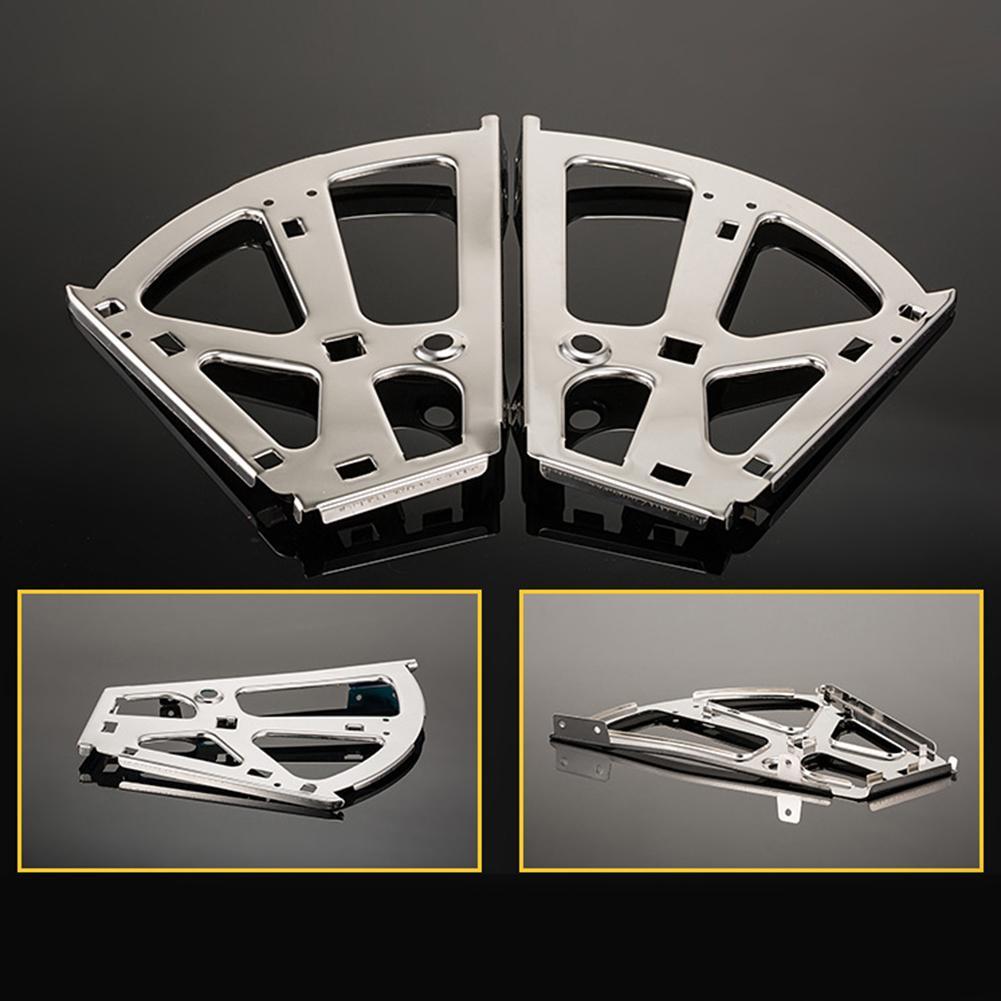 2 uds. Herrajes de bisagra de armario de zapatos de plataforma con bastidor abatible de hierro para zapatos