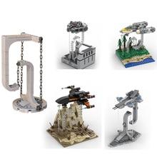Star Wars X-Wing Y-Wing Model Balance Frame Building Blocks Tensegrity Sculptures Anti Gravity Dynamics Physics Balance Block