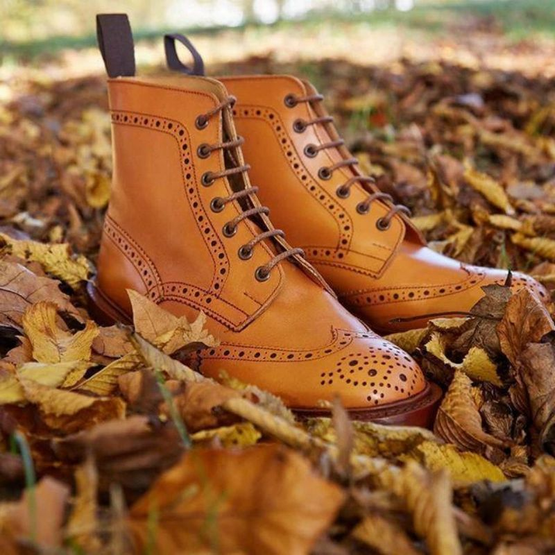 Мужские-ботинки-челси-из-искусственной-кожи-Элегантные-Резные-классические-ботинки-на-шнуровке-Повседневная-модная-зимняя-Боевая-обувь