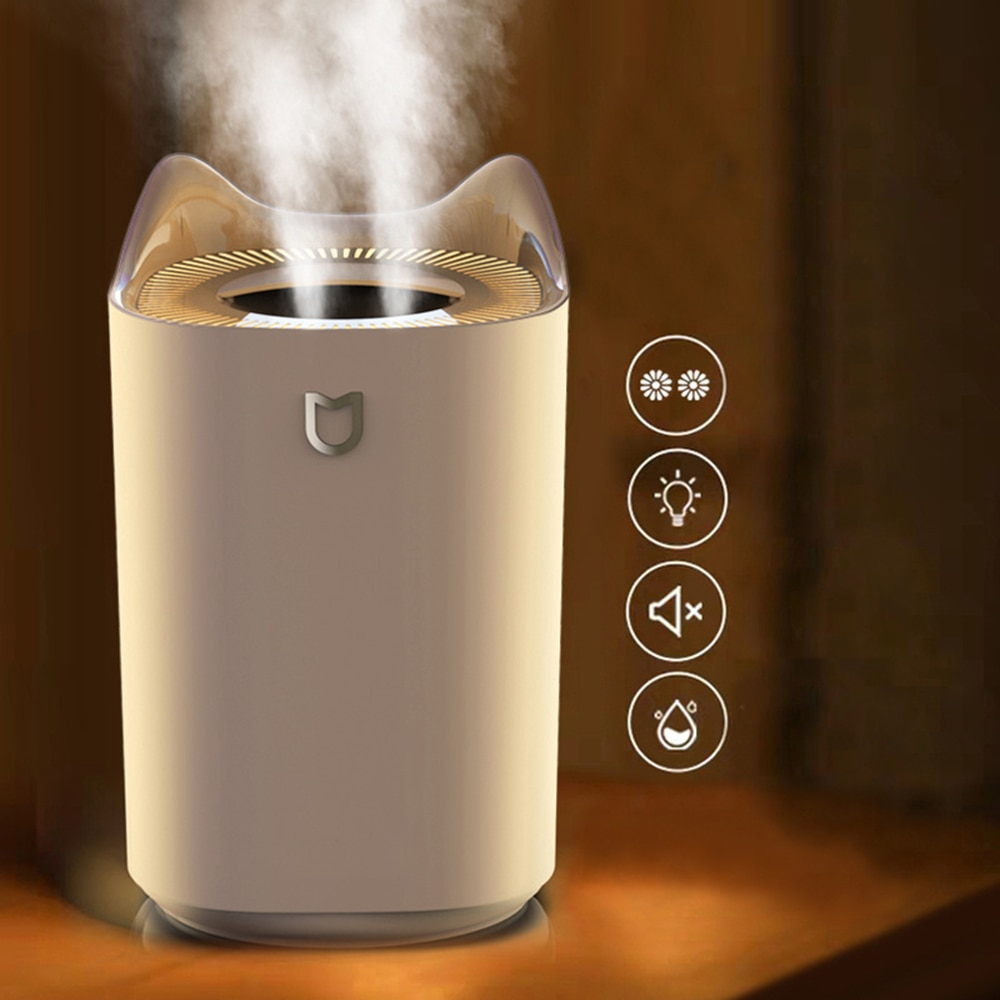 3L Air Humidifier Aroma Essential Oil Diffuser For Home Car Bedroom Office USB Fogger With LED Night Lamp High Quality