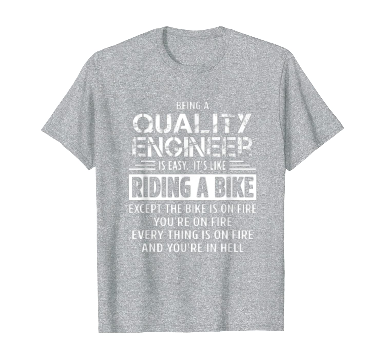 Качественная футболка инженера