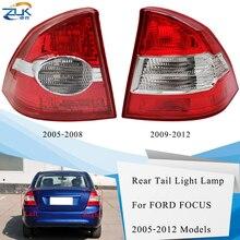 ZUK Tail Light Tail Lamp Taillamp Assy Rear Brake Light Stop Lamp For Ford Focus Sedan / Saloon 2005-2013 Rear Bumper Lamp