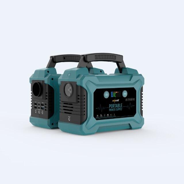 220Wh Emergency Backup Lithium Battery 200W AC Inverter Outlet Solar Generator enlarge