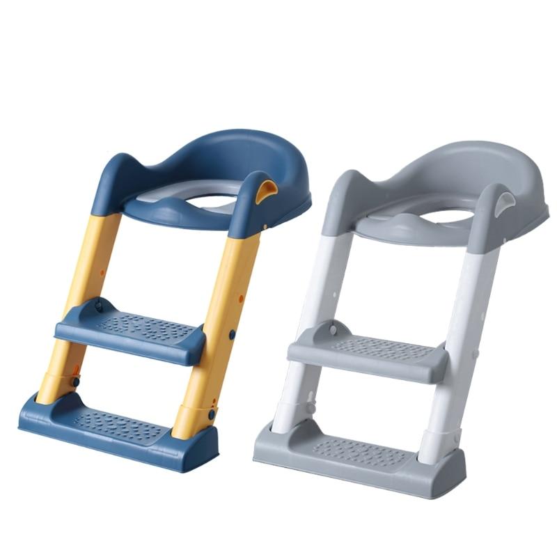 Portable Folding Toilet Seat Potty Chair Kids Child Non-Slip Potty Training Seat hot enlarge