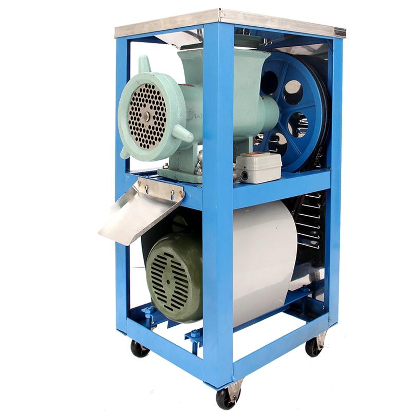 180 kg/h, 500 kg/h comercial el máquina picadora de carne de acero inoxidable