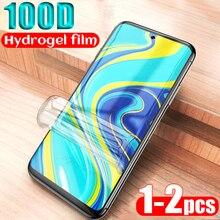 Film Hydrogel pour xiaomi redmi note 9 pro max 9s protecteur décran pour Redmi k30 k20 pro note 8t 7 8 Pro 8a 7a 9pro Film souple