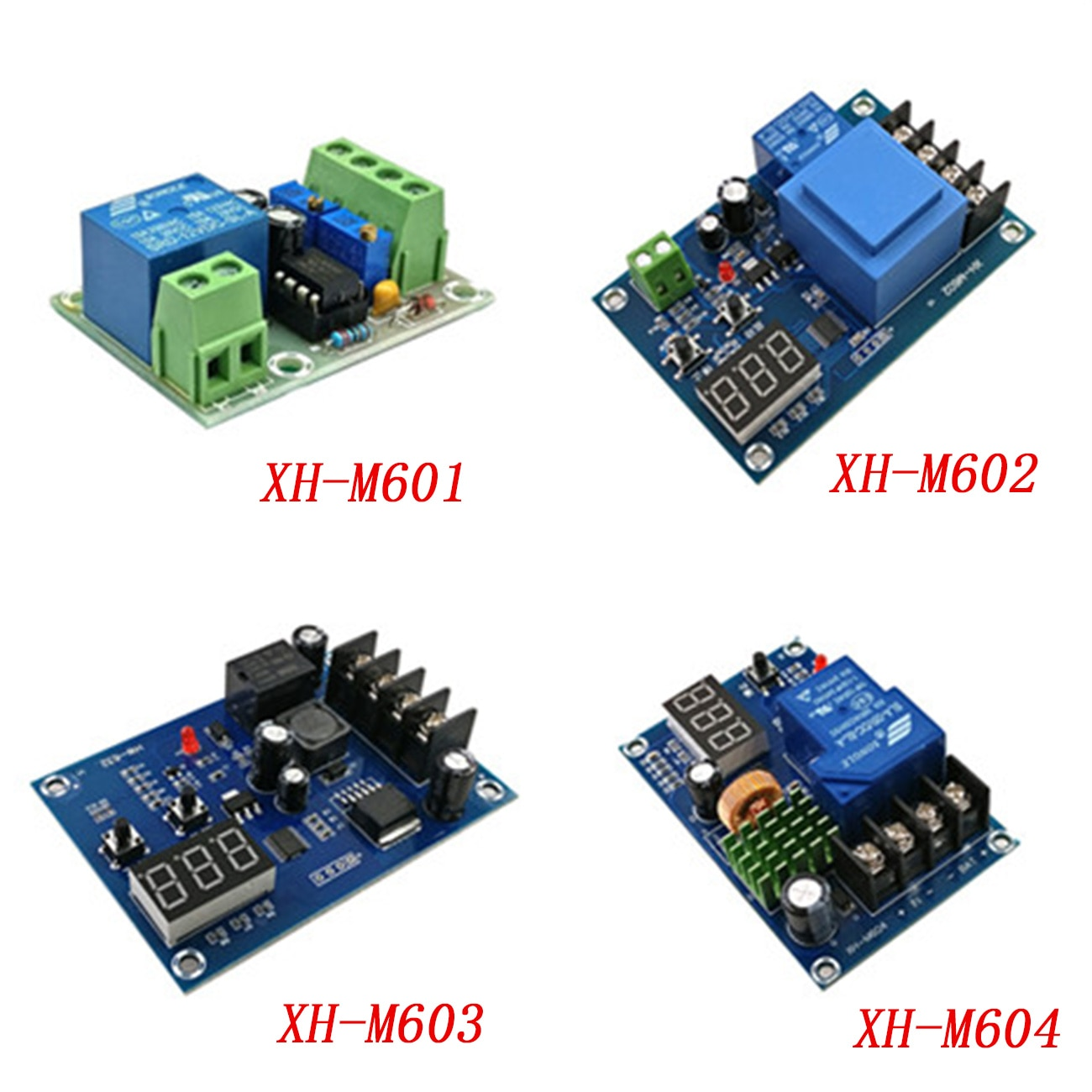 XH-M601 XH-M602 XH-M603 XH-M604 Lithium Battery Charging Protection Board Switch Controller Module DC 12V 3.7-120V 24V 6-60V