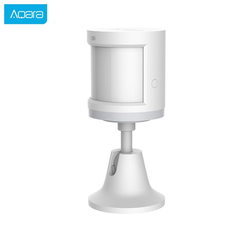 Aqara Human Body Sensor Smart Body Movement Motion Sensor Zigbee Connection holder stand Mihome App via Android&IOS