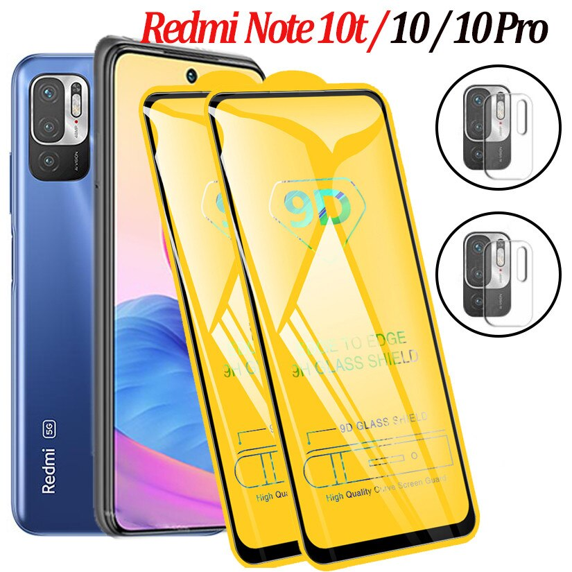 Redmi Note 10T,Cristal protector para Xiaomi Redmi Note 10T 10 T 10S...