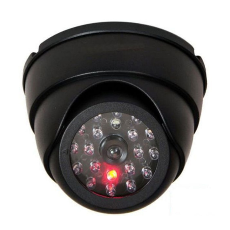 Dummy Fake Dome Fake Security Camera IP Vedio With Flashing LED Light Home Shop Security CCTV Video