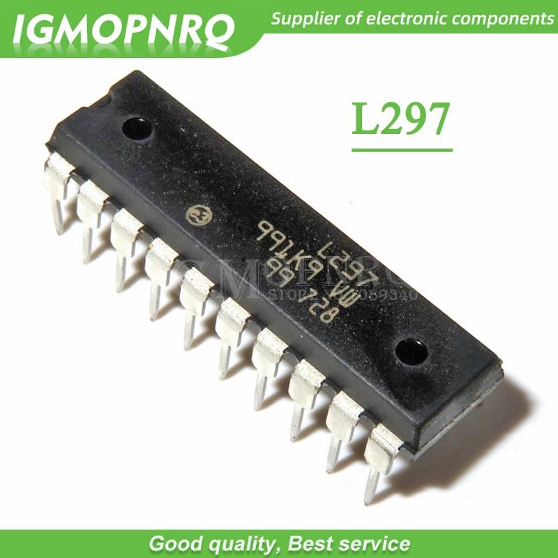 5 unids/lote L297N L297 DIP-20 controlador de motor paso a paso IC nuevo envío gratis Original