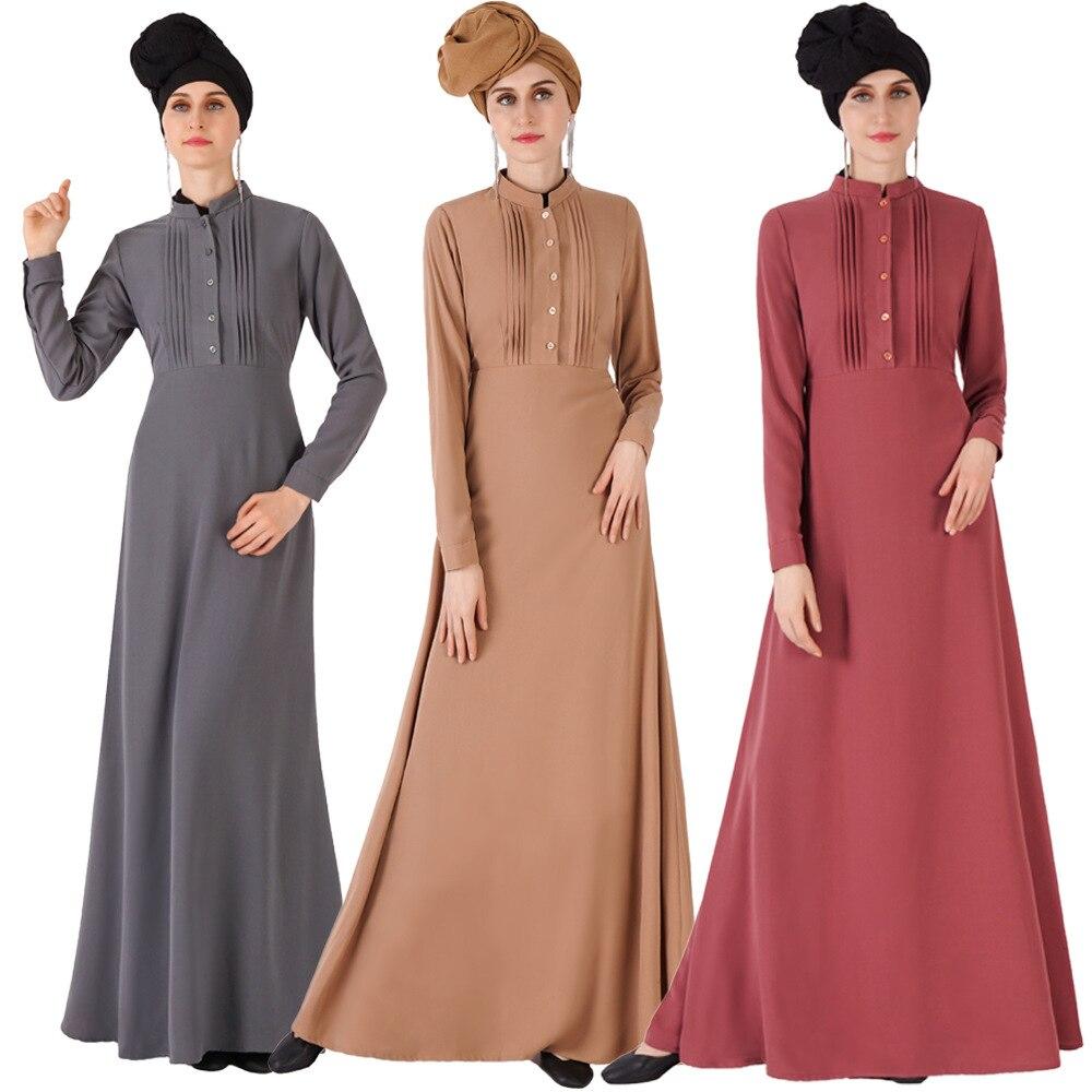 Abaya Kaftan Dubai Sukienka Maxi árabe musulmán vestido Hijab islámico Vestidos tesettour Elbise Caftan bata muselmane Longue Vestidos