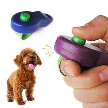 1Pc anneau pour animaux de compagnie Clicker son chien dispositif de formation chien Clicker pour animaux de compagnie Portable chien formation sifflet chien accessoire de formation pour animaux de compagnie