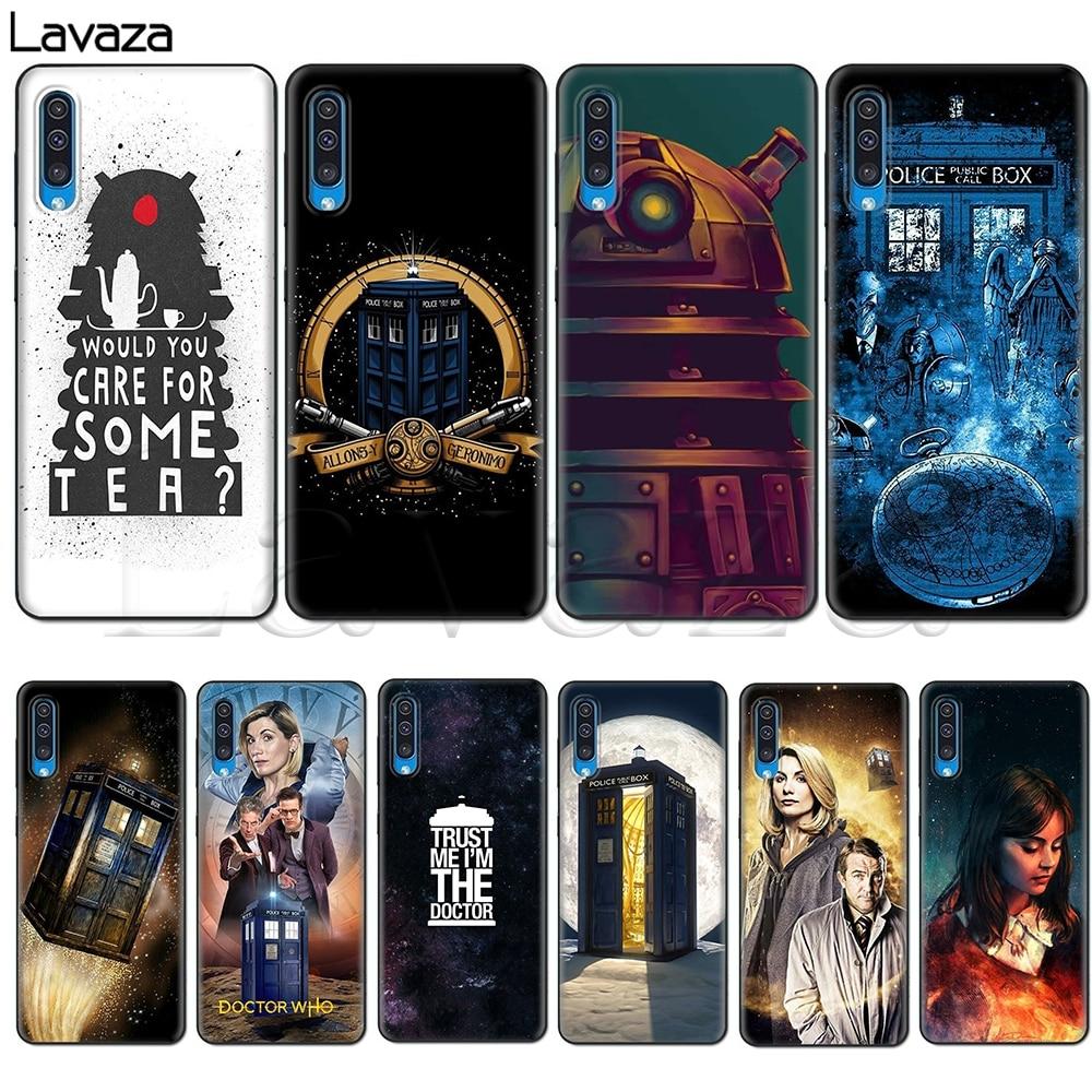 Doctor Who daleks funda para Samsung Nota 10 S10 Lite S20 A51 A71 A81 A91 A2 J4 Core A20e A70s J7 Duo J6 J8 Plus primer