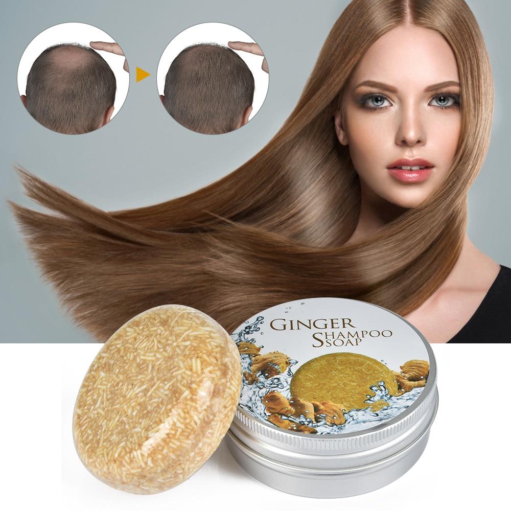 Handgemachte Haar Wachstum Ging Shampoo Seife Kalt Verarbeitet Seife Haar Shampoo Bar 100% Reinen Pflanzen Haar Shampoos Haar Pflege Essenz