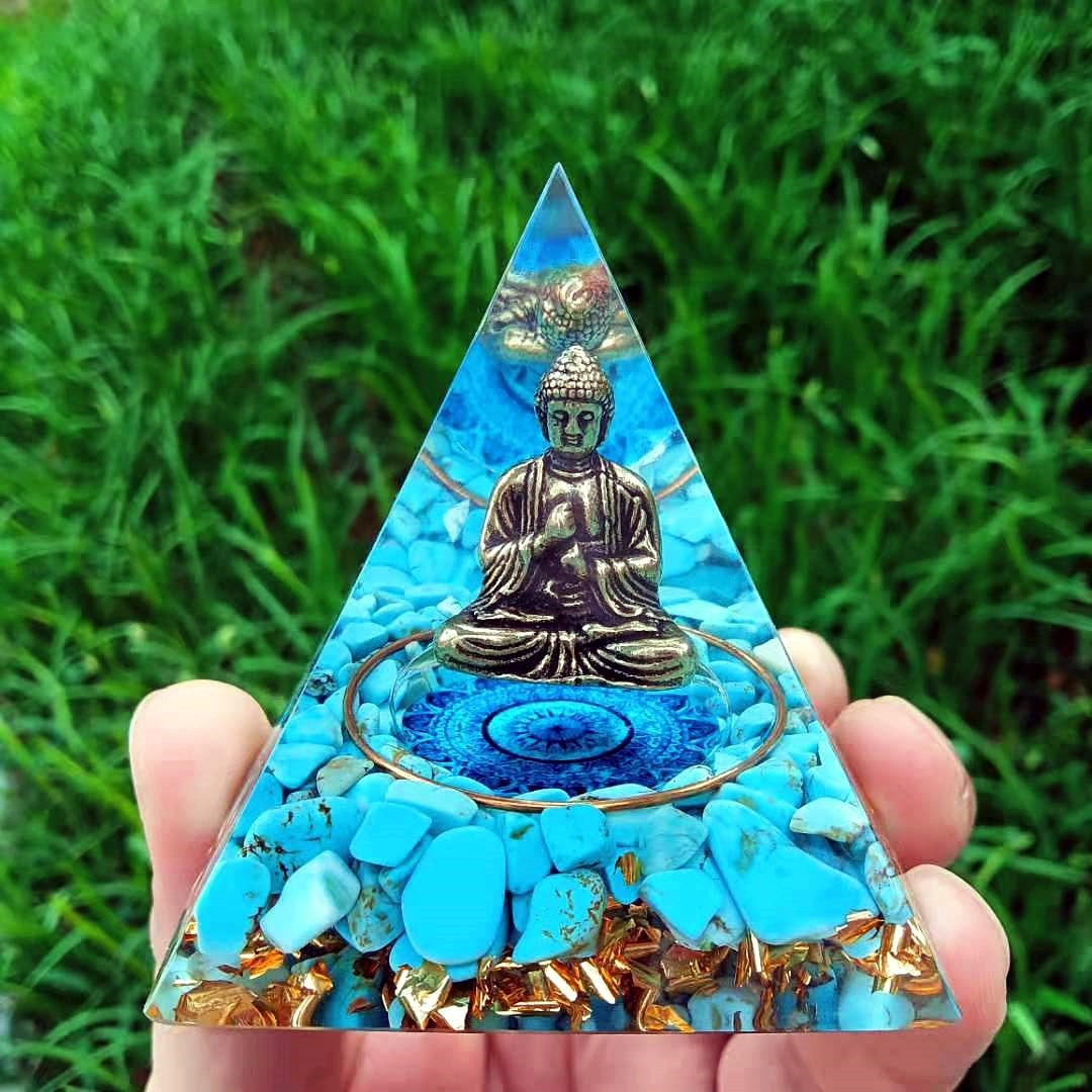 Статуэтка Будды ручной работы, статуэтка оргии из искусственного кристалла обсидиана, генератор энергии, медитация, рейки, балансировка юв...