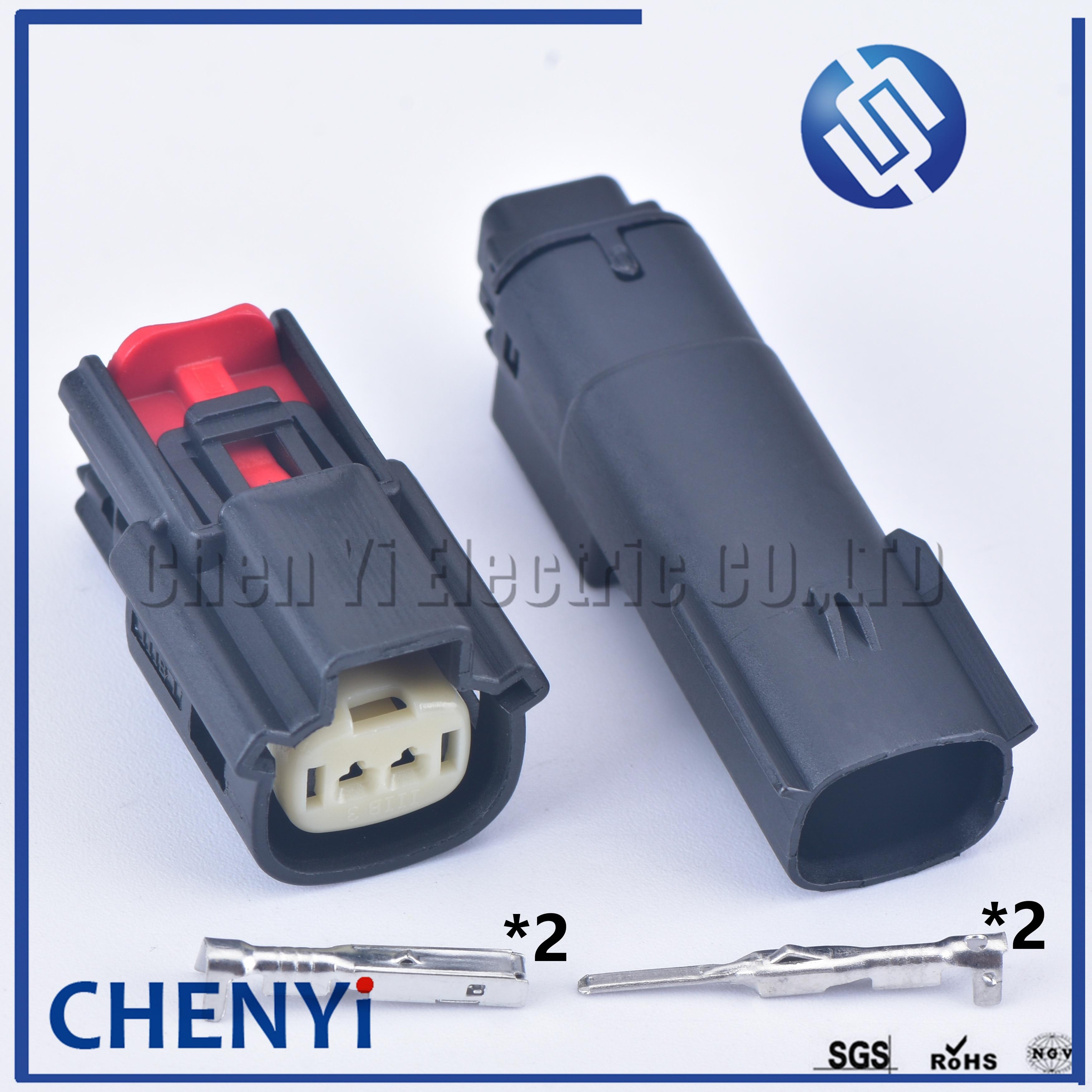 Conector de Sensor de temperatura automotor resistente al agua Molex 2 Pin...
