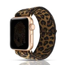 Stretchy Schleife strap für apple watch band 40mm 38mm 44mm 42mm iwatch apple watch serie 5/4/3/2/1 doppel-schicht Stretch wristbelt