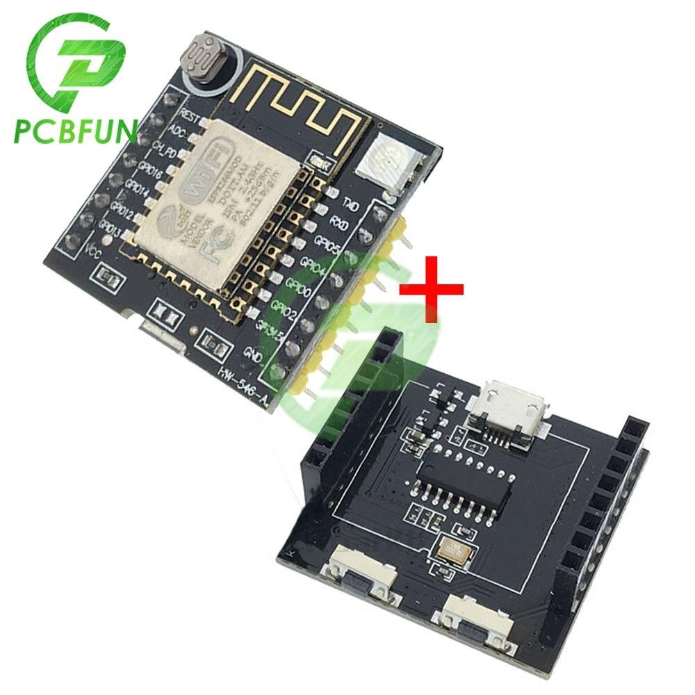 1Set ESP8266 Serielle WIFI für Witzigen Wolke Entwicklung Bord MINI Nodemcu CH340 Micro-USB ESP-12F WIFI Wireless Transceiver modul