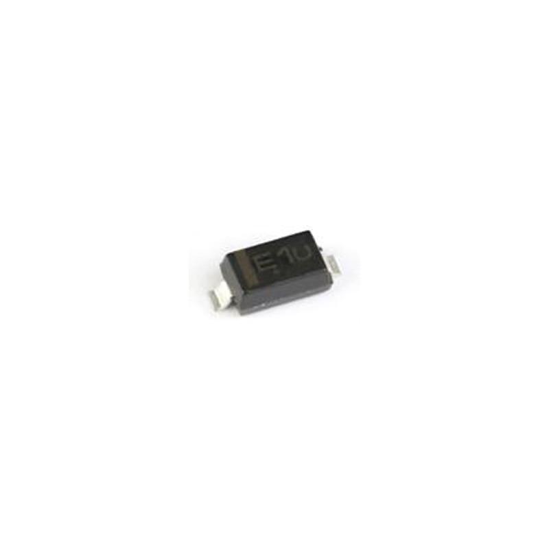 100pcs/lot MMSZ5231BT1G Silk Screen E1 SOD-123 5.1V/500mW SMD Zener Diode New and Original