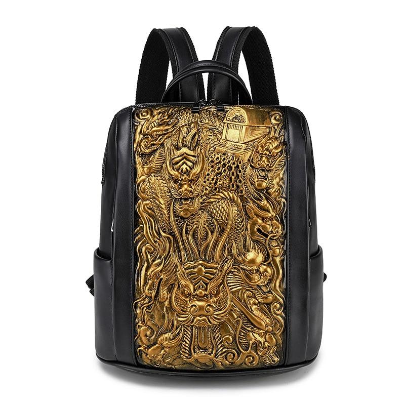 حقيبة ظهر Dragon Tiger ثلاثية الأبعاد مطبوعة للأولاد والبنات, حقيبة مدرسية ، للمراهقين ، حقائب سفر للنساء والرجال ، حقيبة كتب ، حقيبة مدرسية لطلاب ...