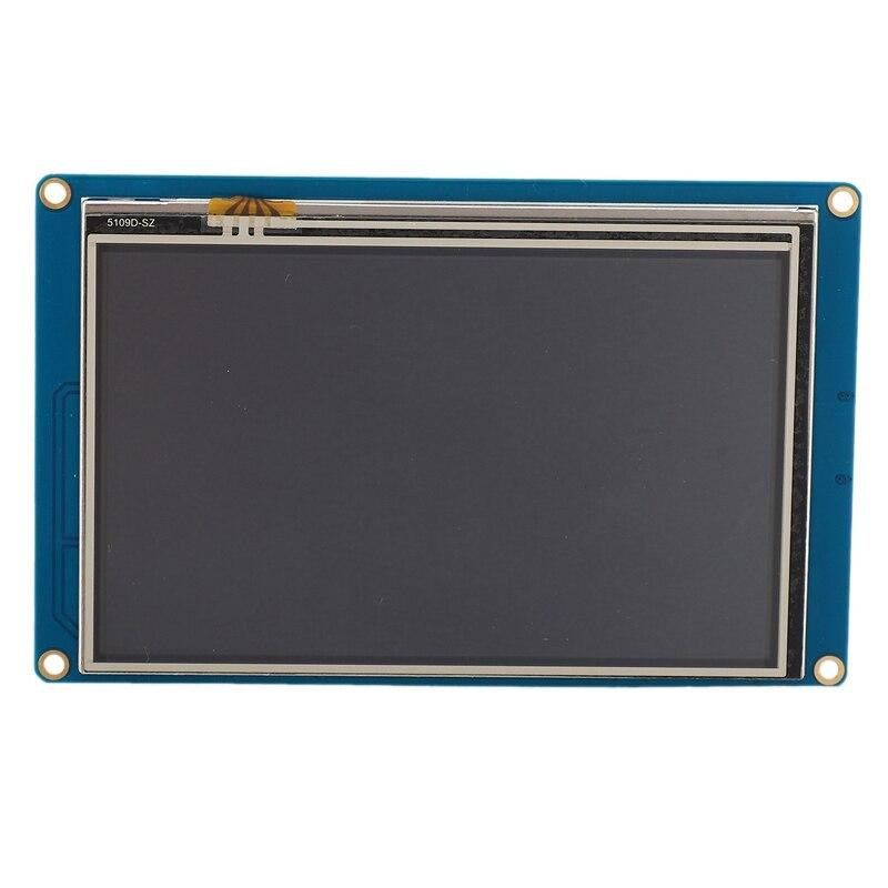 JABS Nextion 5,0 pulgadas NX8048T050 Serial USART HMI Módulo de pantalla LCD inteligente 800X480 prensa resistiva Sn Panel