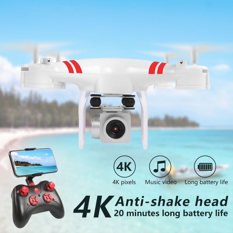 2021 New Drone 4k Camera HD Wifi Transmission Fpv Drone air Pressure Fixed Height Four-axis Aircraft