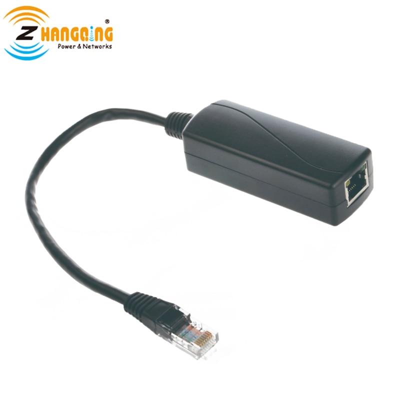 محول POE 24 فولت من 48 فولت إلى 24 فولت 24 وات فاصل POE لـ 24 فولت ملحقات POE MikroTik السلبية من 802.3af/at