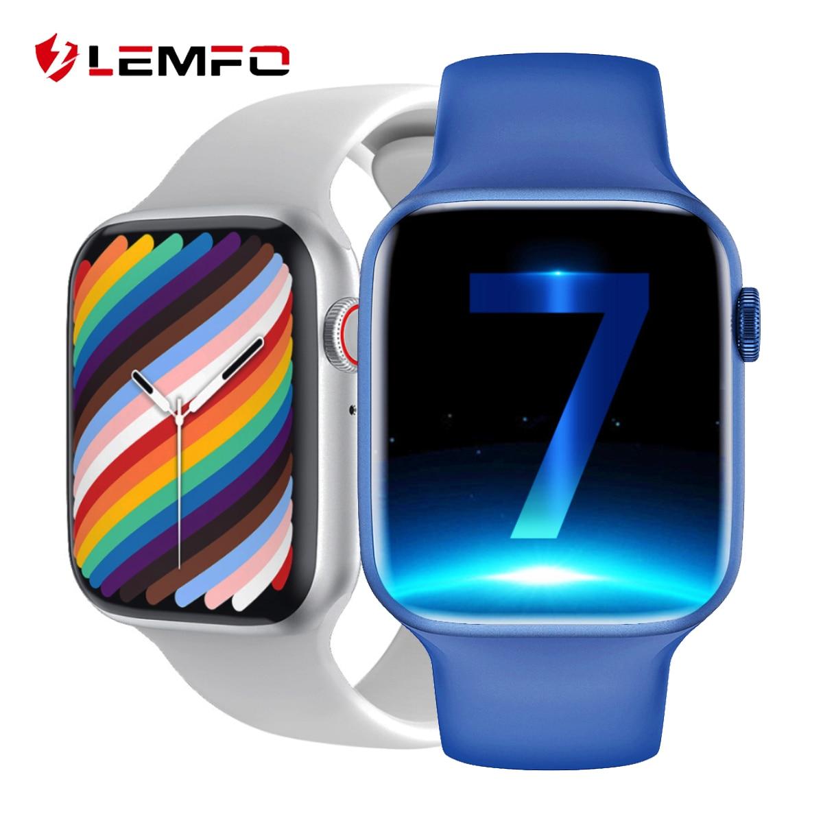 Lemfo Iwo 13 Pro W37 Smart Watch Men 2021 Bluetooth Call Custom Dial Sleep Monitor Women Smartwatch Pk Dt100 Hw16 Smart Watch